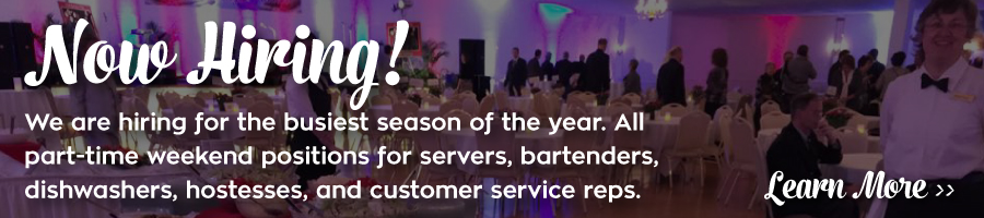 Michaud's Catering and Event Center is Hiring! Fill out our online application to apply