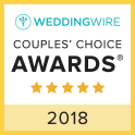 Michaud's Catering and Event Center is the 2018 Wedding Wire Couple's Choice